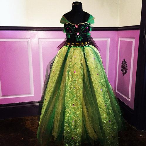 Princess Anna's Coronation Classic Tutu Dress