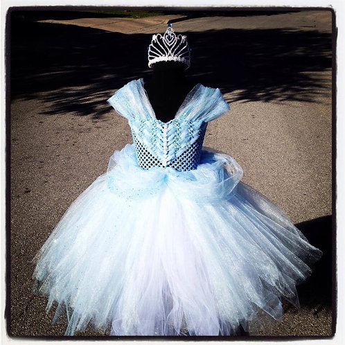 Princess Rella's Glass Slipper Tutu Dress