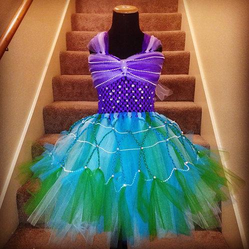 Deluxe Princess Ariel's Lil Mermaid Tutu Dress