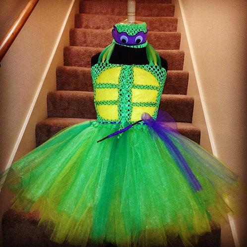 Turtle Madness Tutu Dress