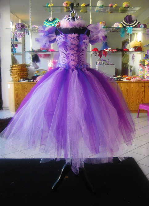 Princess Rapunzel's Tangled Rapture Tutu Dress