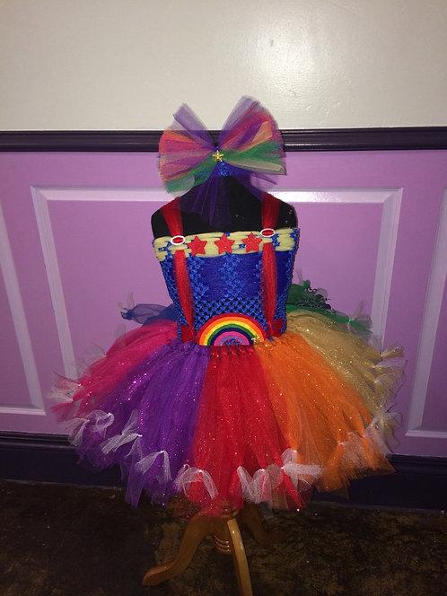Brite Rainbow Tutu Dress