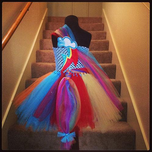 A Dash of Rainbow Tutu Dress