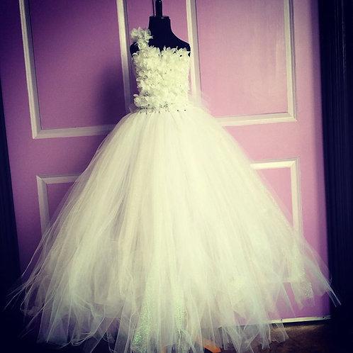 Imperial Flower Girl Tutu Dress