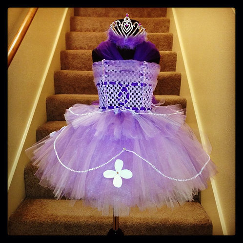Princess Sophia's Pearl Tutu Dress