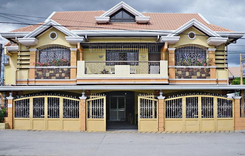 Facade of La Casa Pension