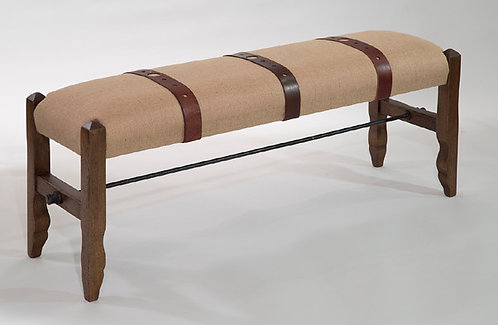 Montrose Burlap Bench