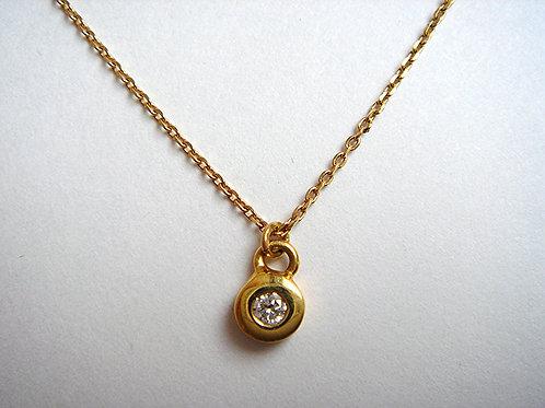 K18 Diamond ネックレス