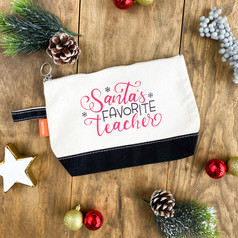 teacher gift set - santas favorite teach