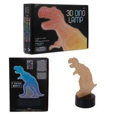 3D Illusion Dinosaur Lamp