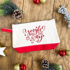 Jingle All the Way Pencil Pouch