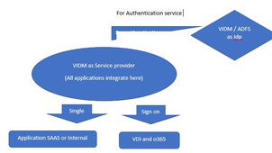 VIDM as SP and IDP