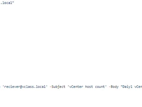 PowerShell Script to Fetch  Esxi Host Details for Multiple vCenter Servers