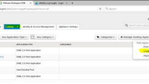 Workspace ONE Loginsight Integration