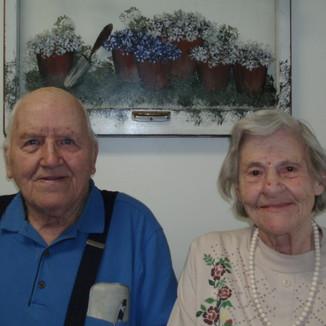 Bob and Bette Huffman, 2007