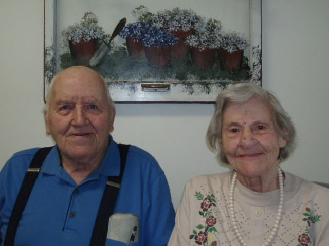 Bob and Bette Huffman, 2007