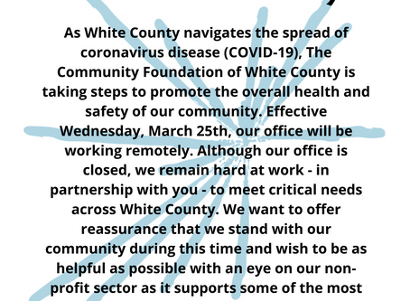 COVID-19: A Message to Our Community