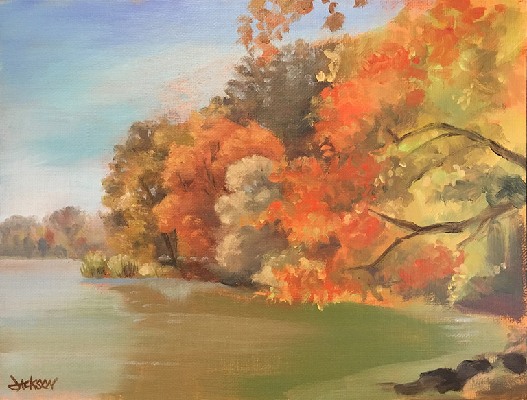 Rockland Lake Autumn