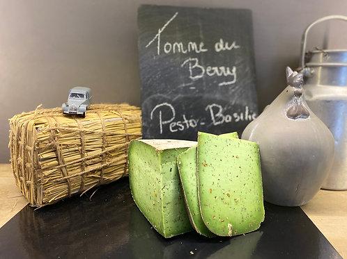 TOMME DU BERRY - Pesto Basilic - 200 gr