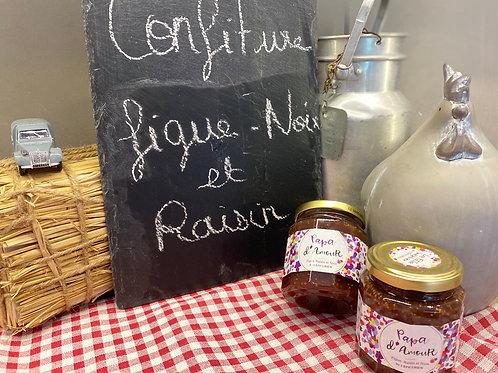 CONFITURE FIGUE - NOIX ET RAISIN