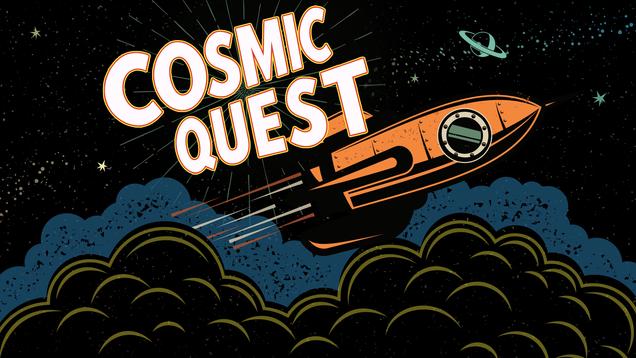 Cosmic Quest Event Graphic