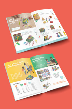 SimplyFun Catalog inside Spreads