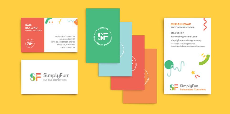 SimplyFun Business Cards