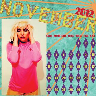 Blondie Calendar