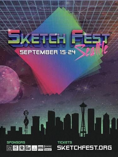 SketchFest 2016 Poster