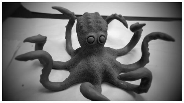 3D Clay Model