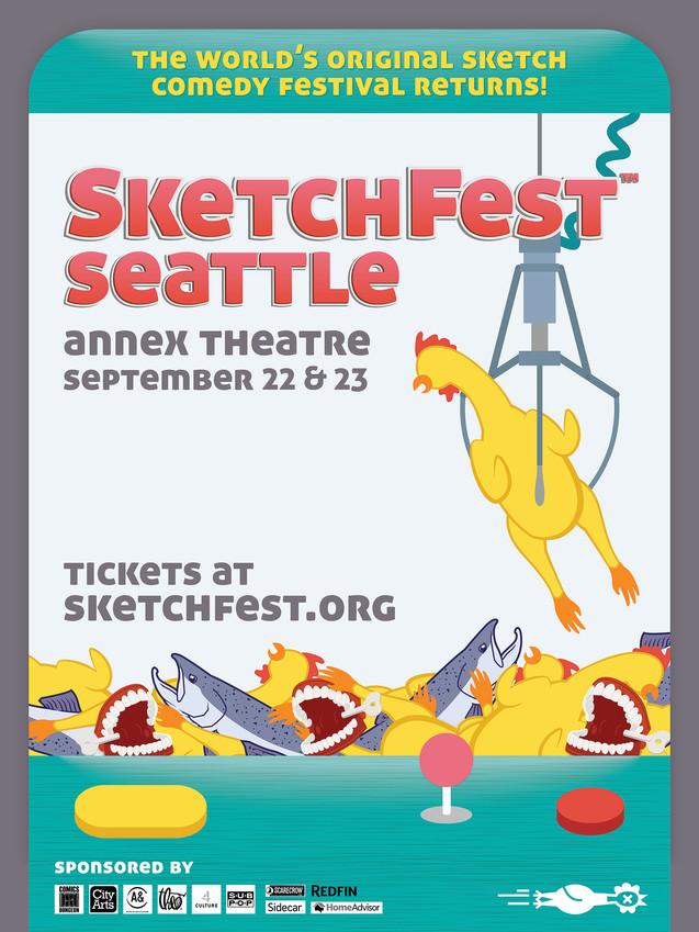 SketchFest 2017 Poster