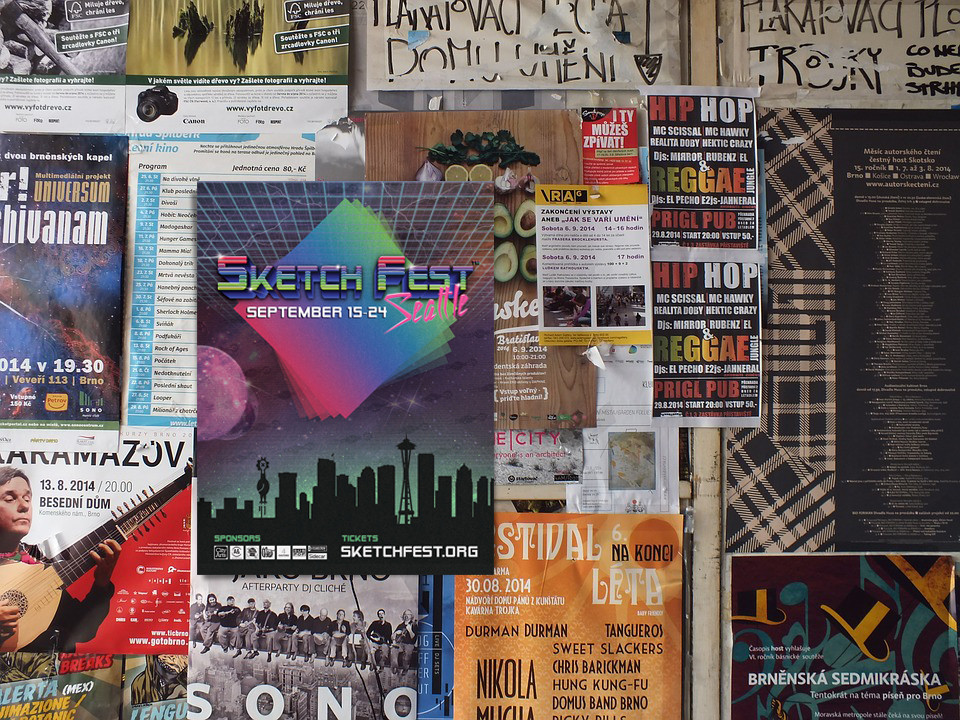 SketchFest Poster
