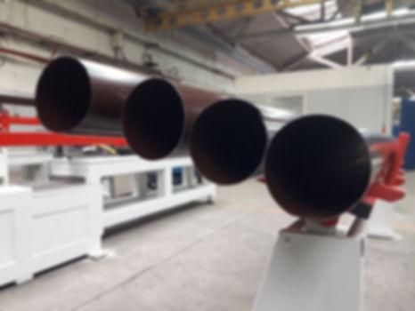 Линия для производства водосточных труб