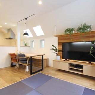 デットスペースも植物の効果も活かす住空間づくり