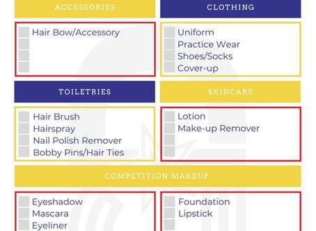 Competition Day Essentials Checklist