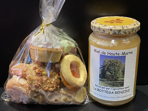 Miel & biscuits italiens