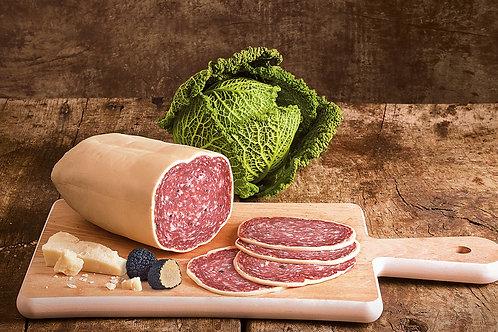 Salami à la truffe recouvert de Parmesan (100g)
