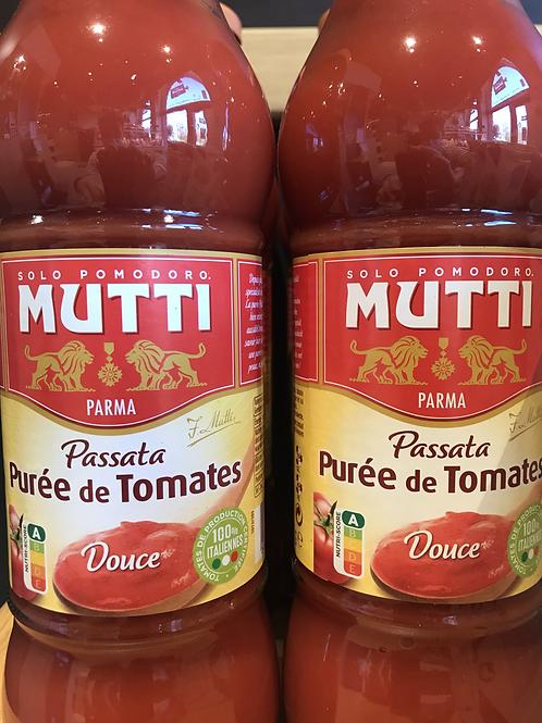 Purée de tomate Mutti