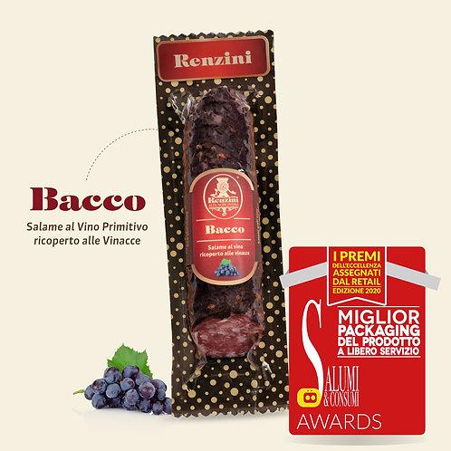 Bacco Saucisson sec au vin rouge (200g)