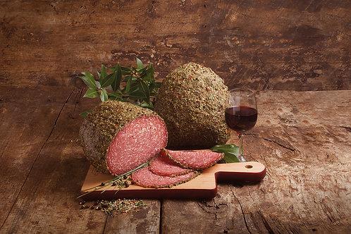 """""""Cuorematto"""" salami aux herbes (100g)"""