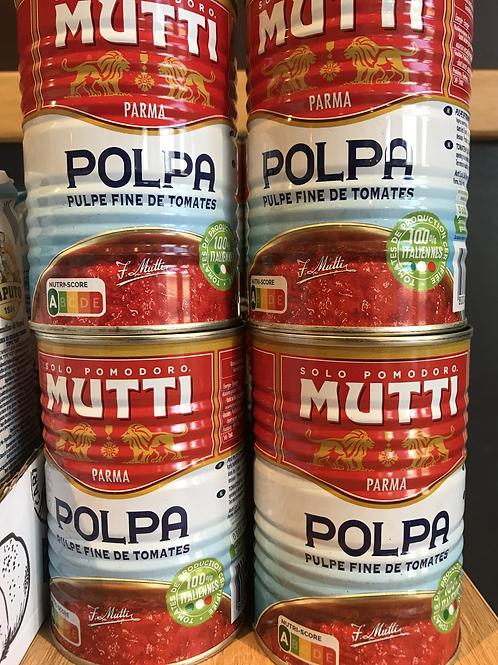 Pulpe de tomate Mutti