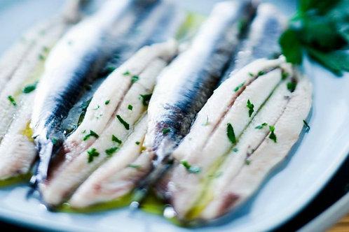 anchois marinés (100g)