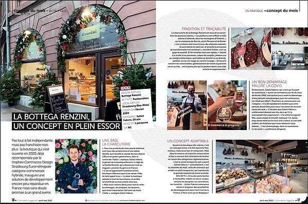 article commerce magazine bottega renzin