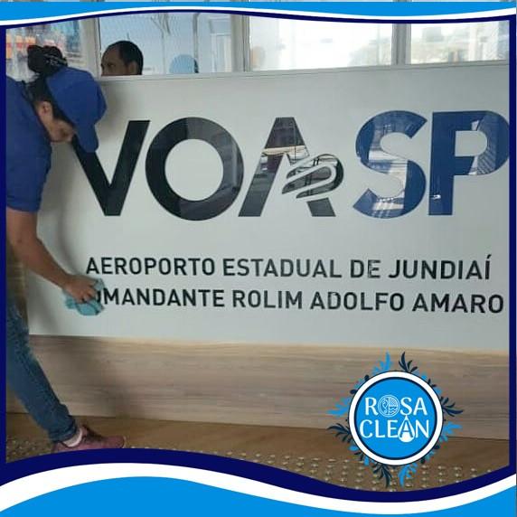 Limpeza Pós Obra em um dos principais aeroportos comerciais do Estado de São Paulo.
