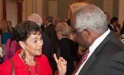 With Clarence Thomas