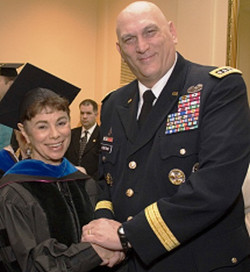 With General Odierno