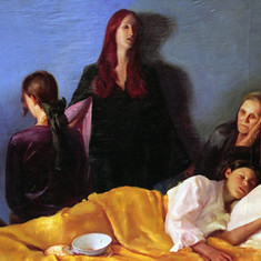 La Morte nella stanza della malata