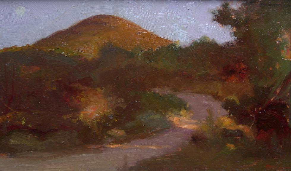 Monte Cocchero al tramonto