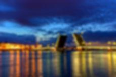 Белые ночи разведение мостов в санкт петербурге