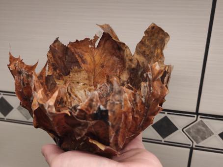 Blätterschale